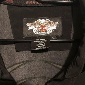 Men's Harley Davidson button down